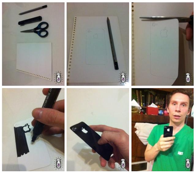 Как сделать рамки фото в iphone