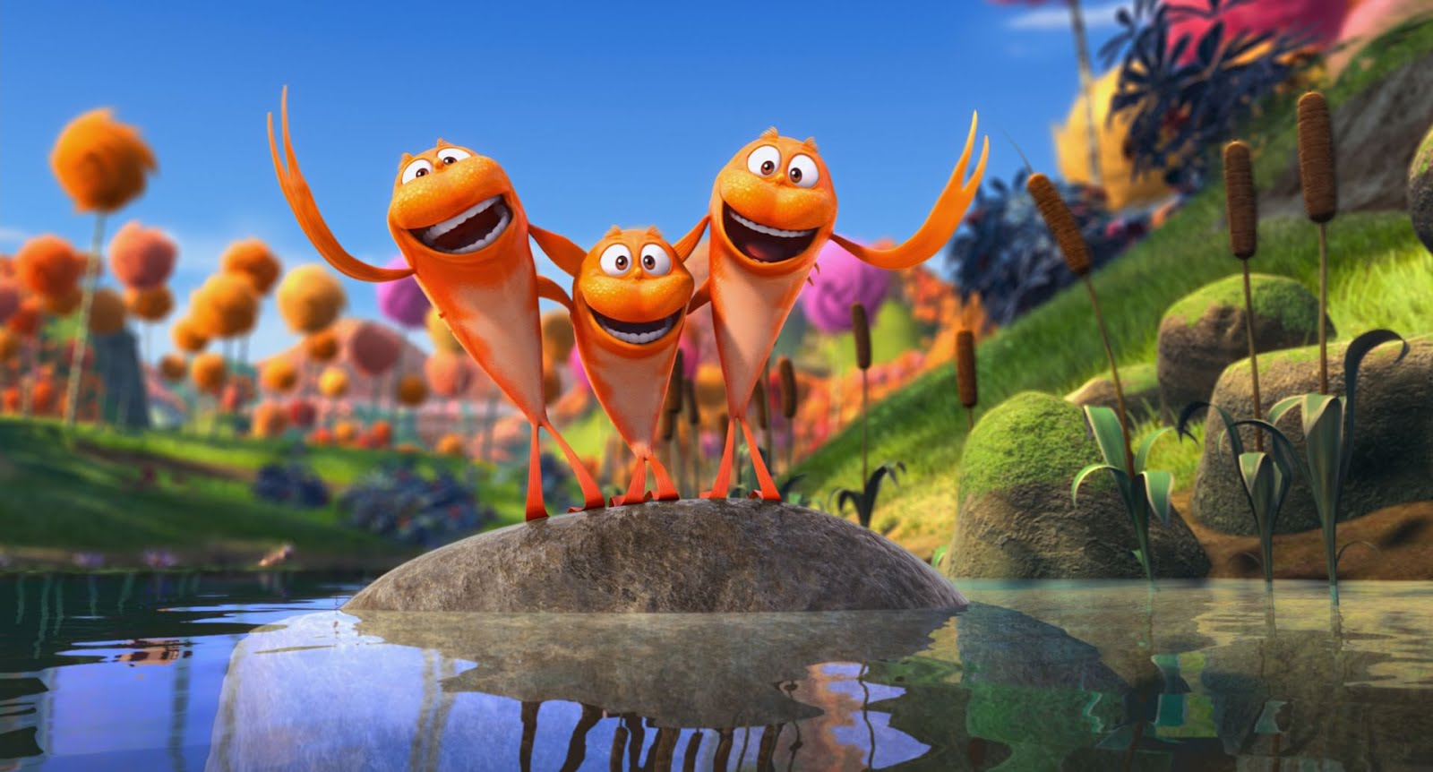 Da couch tomato dr seuss 39 the lorax 3d review or dr for Fish in a tree summary