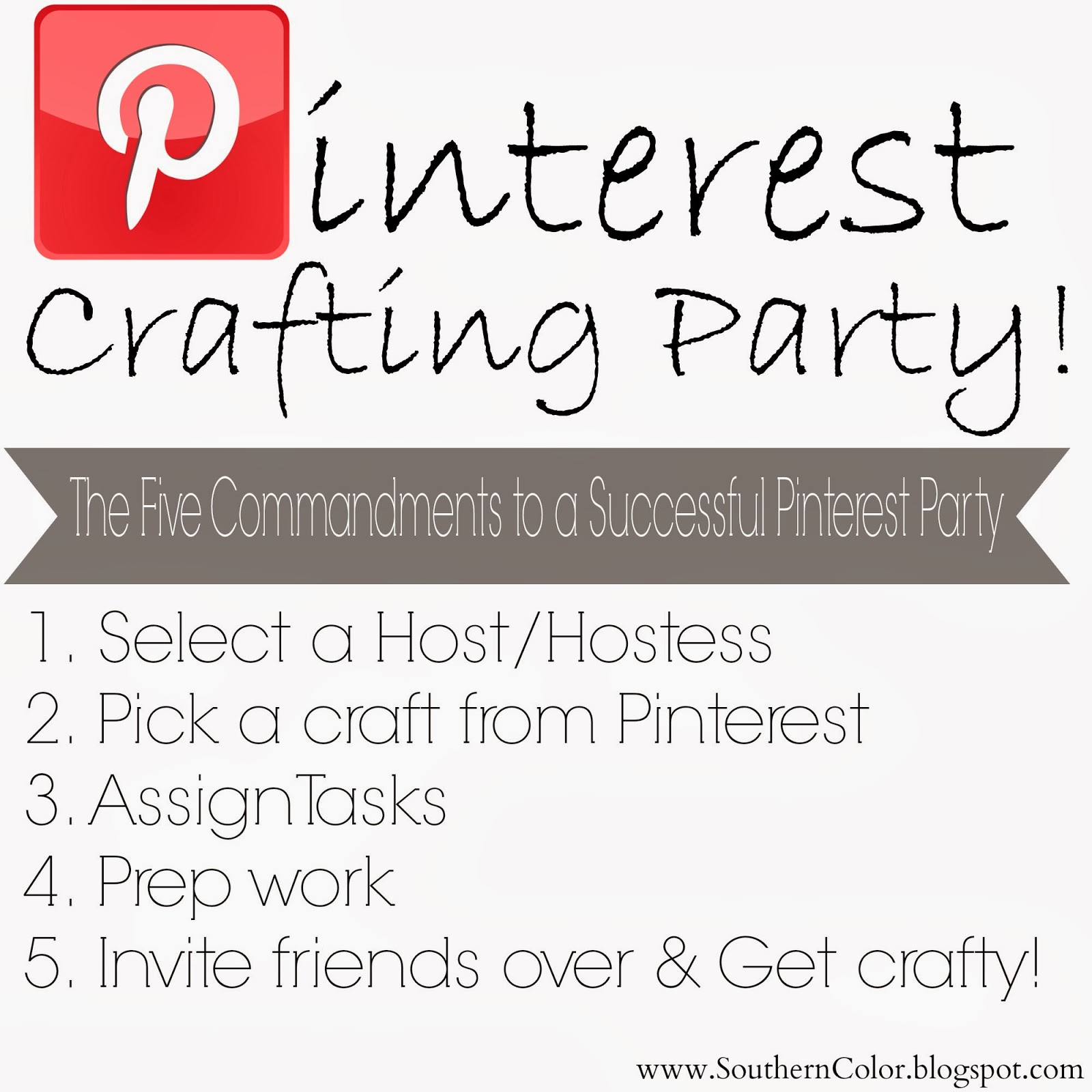 Southern Color How To Throw A Successful Pinterest Party