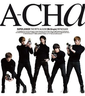 Lirik Lagu Super Juniors A-Cha