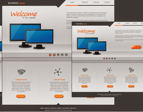 Create a Website Design Business Org In Photoshop