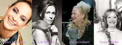 Lola Marceli Cuca Escribano  Sylvie Imbert Yvonne Blake