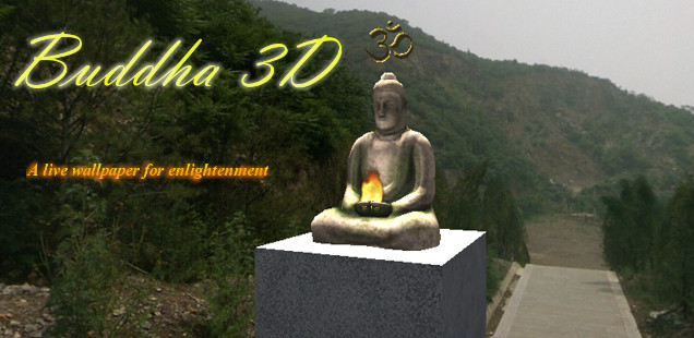 buddha 3D live wallpaper