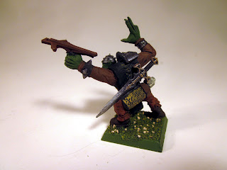 Ruglud's Armoured Orcs Dogs of War Unit