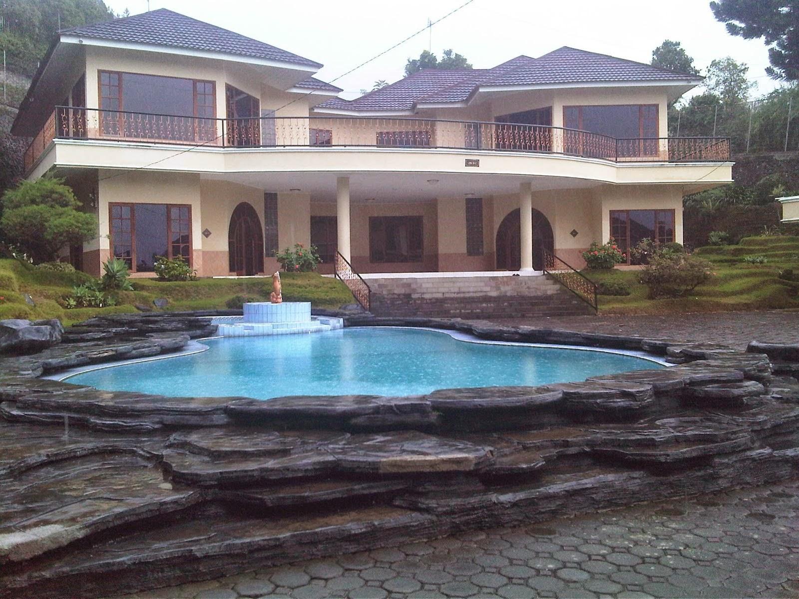 sewa villa coolibah puncak 3 KT kolam renang private