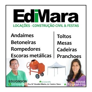 Edimara Locações- Construção Civil & Festa
