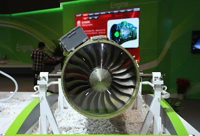 AVIC Unveils New Minshan Aircraft Engine At Airshow China 2012