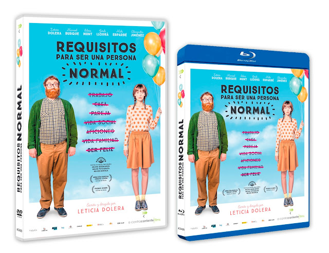 A la venta en DVD y Blu-ray 'Requisitos para ser una persona normal'