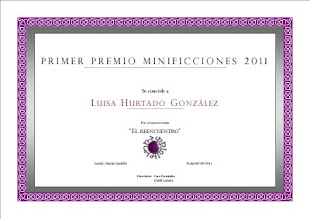 Primer Premio Minificciones 2011