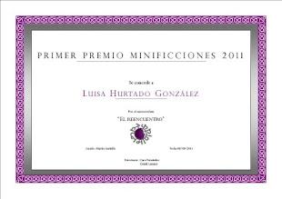 Primer Premio Minificciones 2011