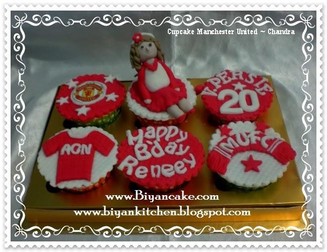cupcake ulang tahun Manchester United