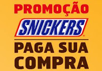 Promoção Snickers paga sua compra www.snickerspagasuacompra.com.br