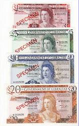 Set Specimen Gibraltar CV=$350, UNC, Harga 1,5juta-SOLD