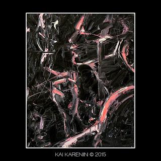 Interlocutor #2 by Kai Karenin, oil on canvas, 40x50 cm