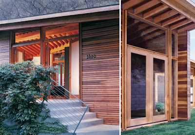 hermosa casa en madera