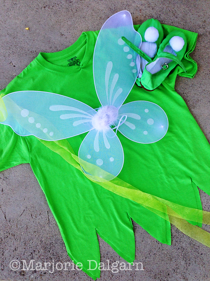 Living with ThreeMoonBabies | Tinker Bell costume