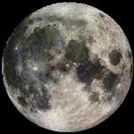November Full Moon on Thanksgiving Morning