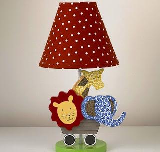Desain Lampu Tidur Anak Karakter Binatang