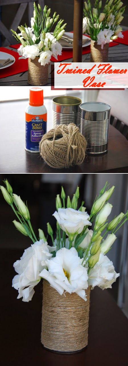 Twined Flower Vase