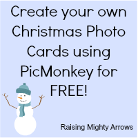 Mighty arrows shares how to design your own photo christmas cards for