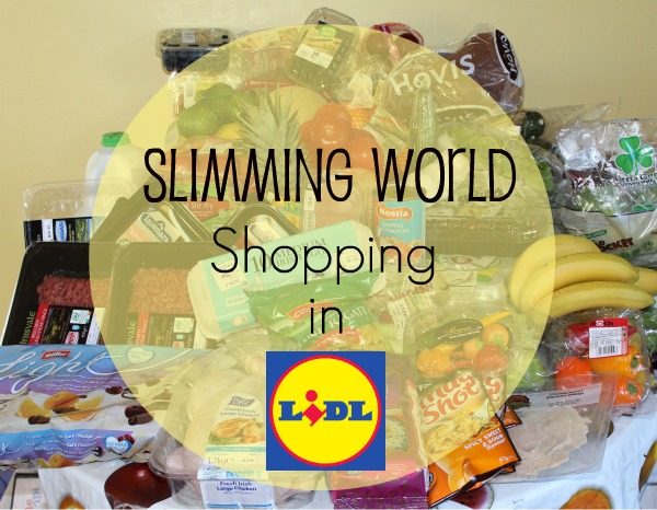 Cherrysue Doin 39 The Do My First Slimming World Shop With Lidl Ireland