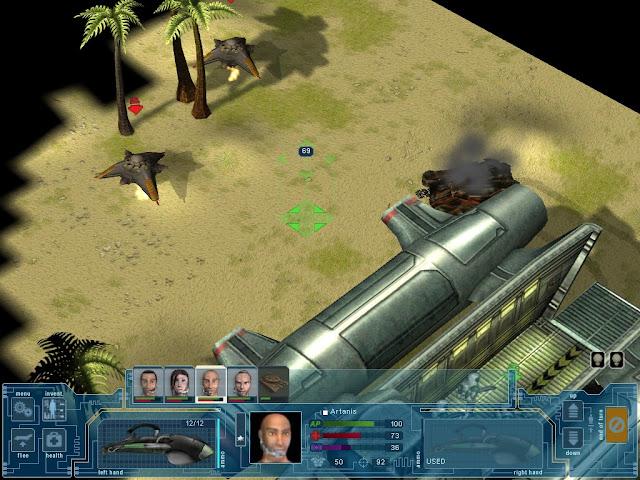 UFO: Extraterrestrials - Sentinel Aliens Screenshot