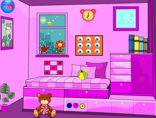 YalGames little girl room…