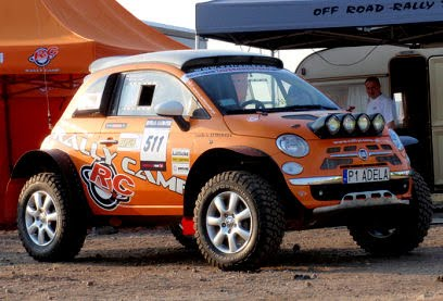 5ooblog | FIAT 5oo: New Fiat 500 4WD - Rally Camp