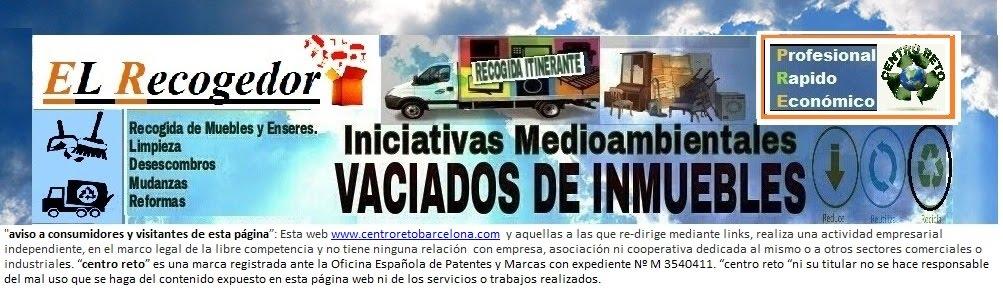 RECOGIDA  MUEBLES Y MUDANZAS BARCELONA