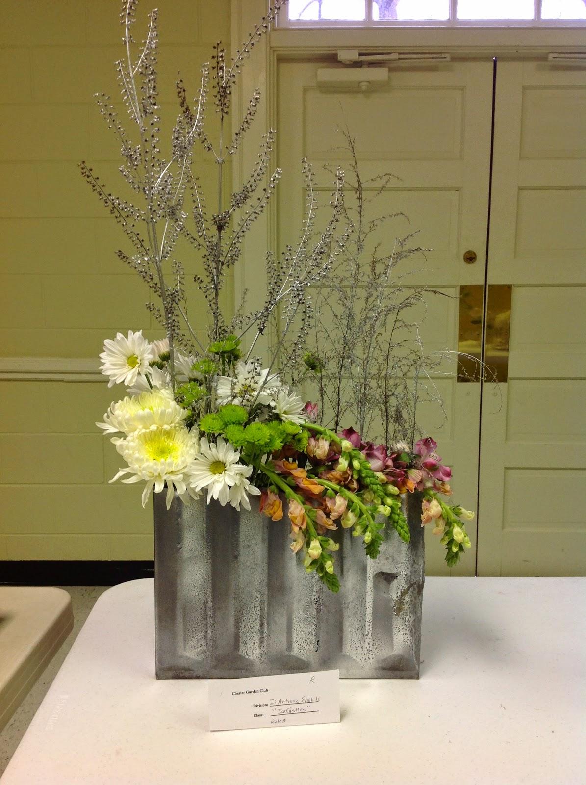 New Garden Club Journal Ice Castles a creative Design