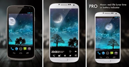 Preview Dream Night Pro Live Wallpaper | andromin