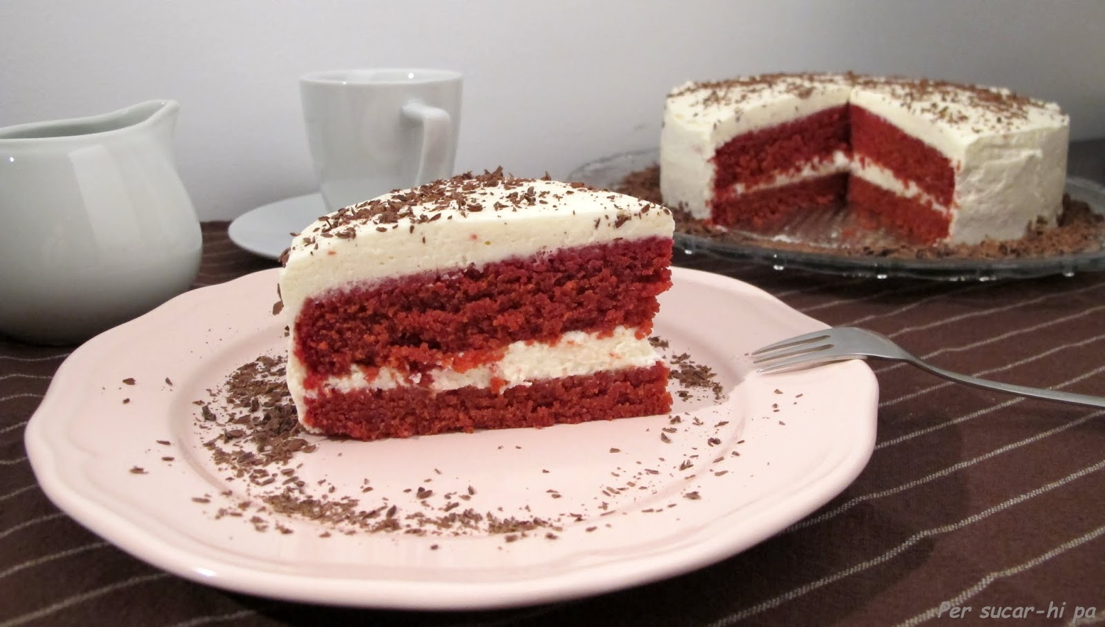 Red Velvet natural al mascarpone