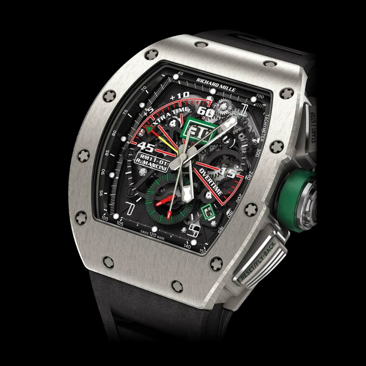Swiss design watches richard mille rm11 01 roberto mancini review for Replica watches