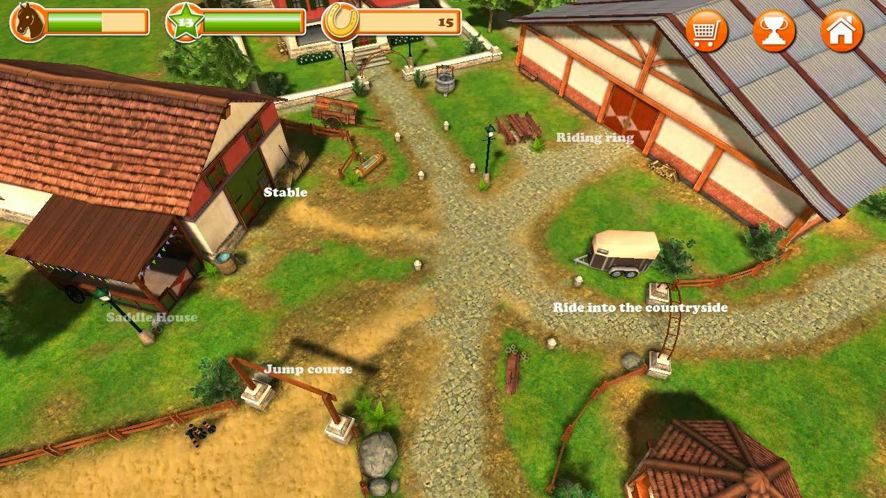HorseWorld 3D: My Riding Horse v1.5 [APK + MOD MONEY] [Android] [Zippyshare] 2