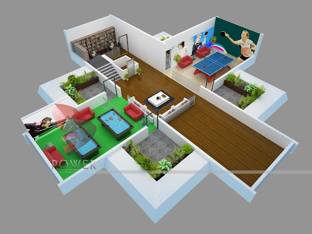 3D House Plans,Architectural 3d Modeling Company