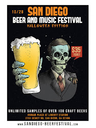 Promo code SDVILLE saves $5 per ticket to San Diego Beer & Music Festival - October 28!