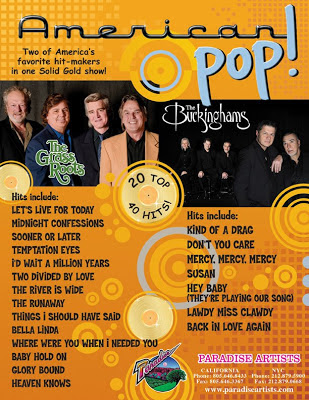 The Buckinghams, The Grass Roots, American Pop, Arcada Theatre