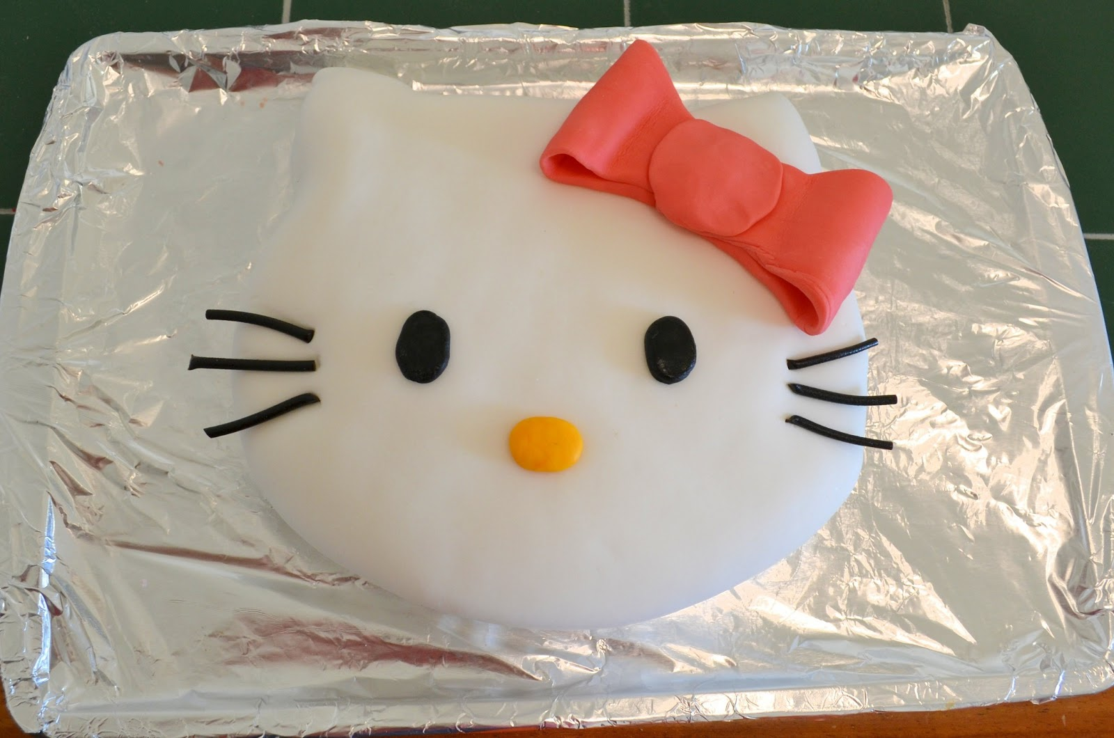 Hello Kitty Strawberry Cake With Cream Cheese Filling