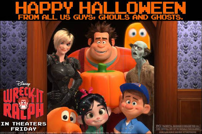 Wreck-It Ralph Halloween
