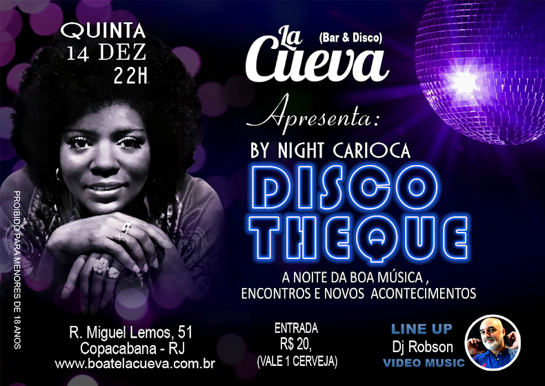 QUINTA FEIRA - 14/12 - 22H