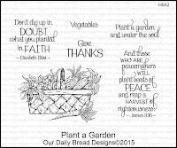 Our Daily Bread designs Plant a Garden