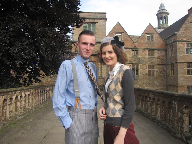 rufford abbey on the home front via lovebirds vintage