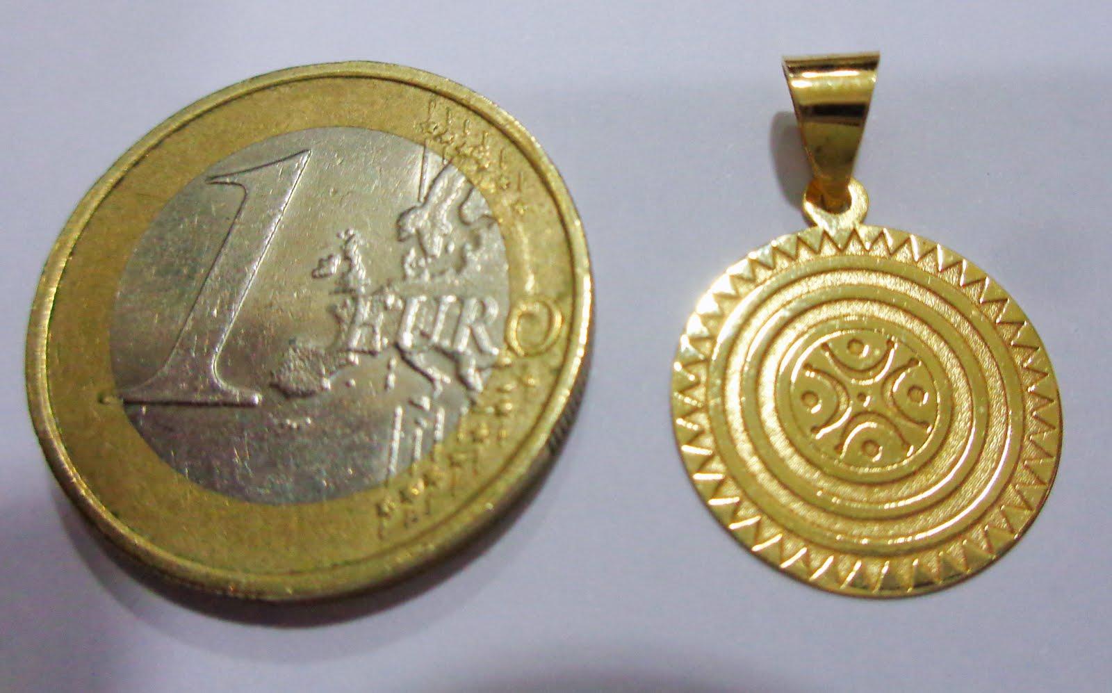 Estela de Cantabria en oro de Ley