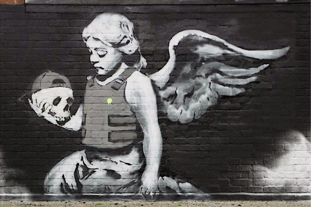 Angel by Banksy