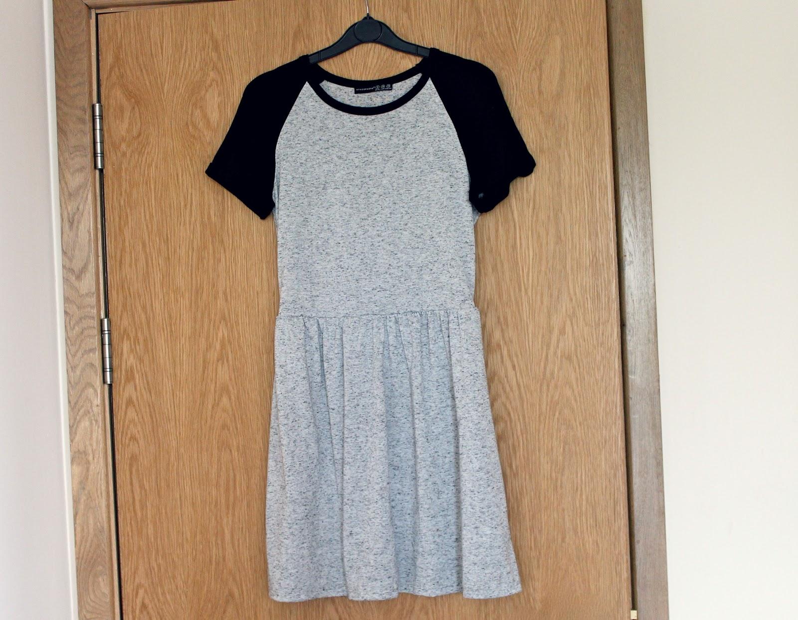 Plain white dress primark