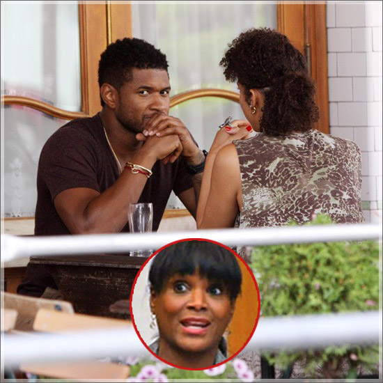 VIDEO  USHER IN COURT EX-WIFE SPIT ON MY GIRLFRIEND  amp  HE CRIES ON THE    Usher Girlfriend 2013 Grace Miguel