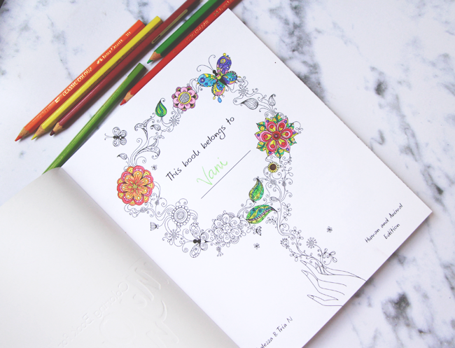 Jual My Own World Coloring Book