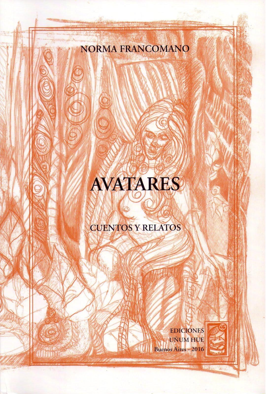 Libro Avatares (cuentos y relatos)