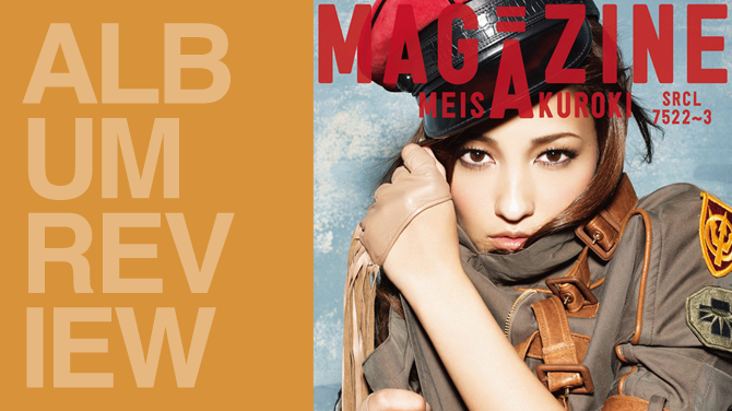 Album review: Meisa Kuroki - Magazine | Random J Pop