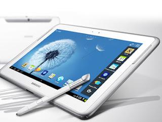 Samsung Galaxy note 10.1 diseño